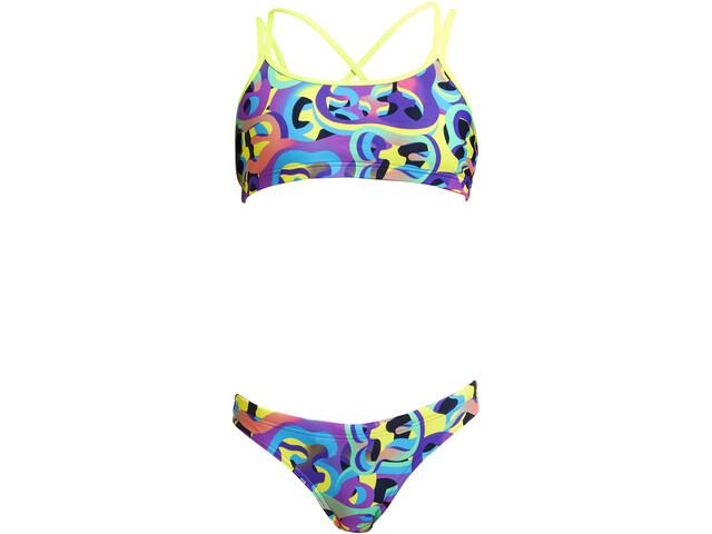 Funkita Criss Cross Bikini Girls, Multicolor